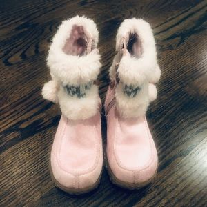Sonoma pink boots size 7
